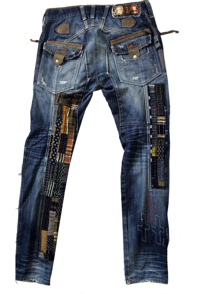 Sashiko Mending Jeans -1