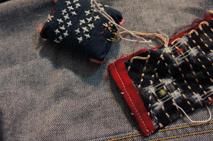 Mending Jeans