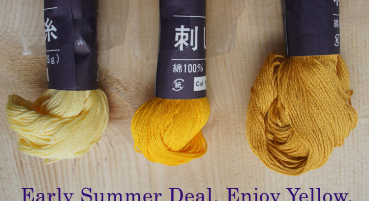 Sashiko Thread Sale Deal