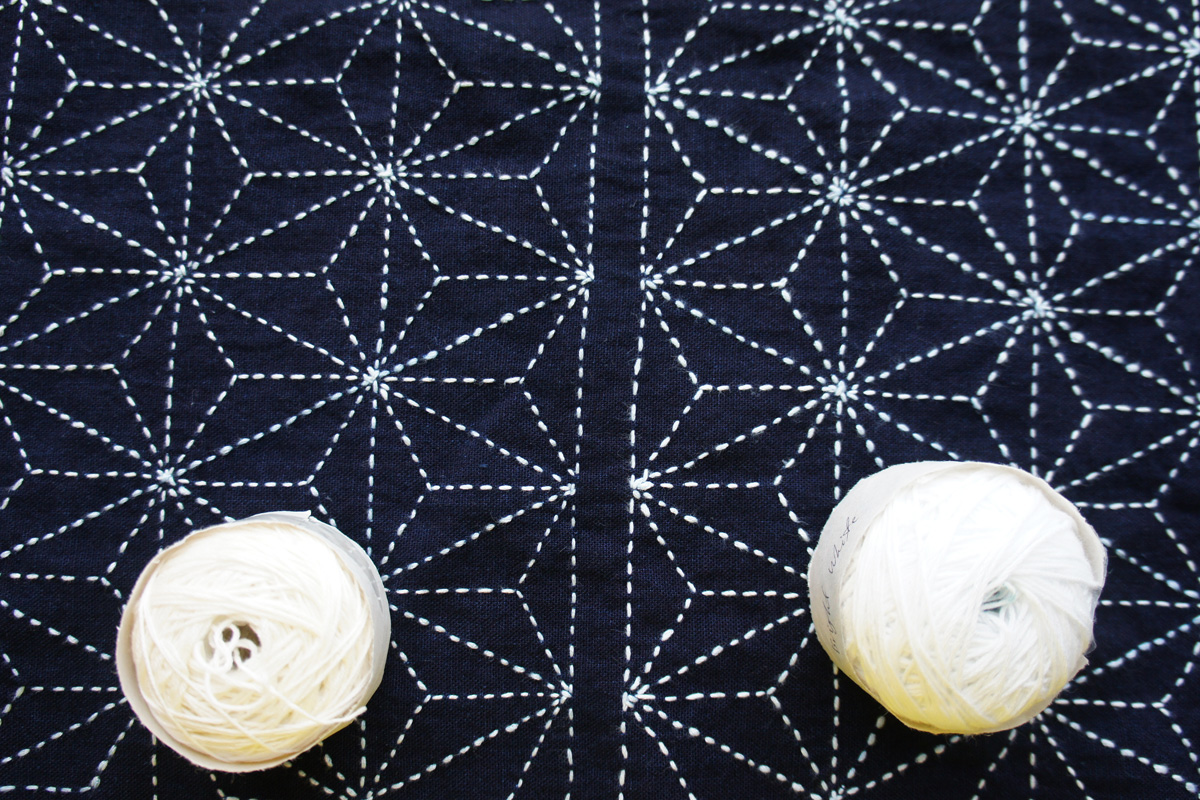 Sashiko White Thread Comparison