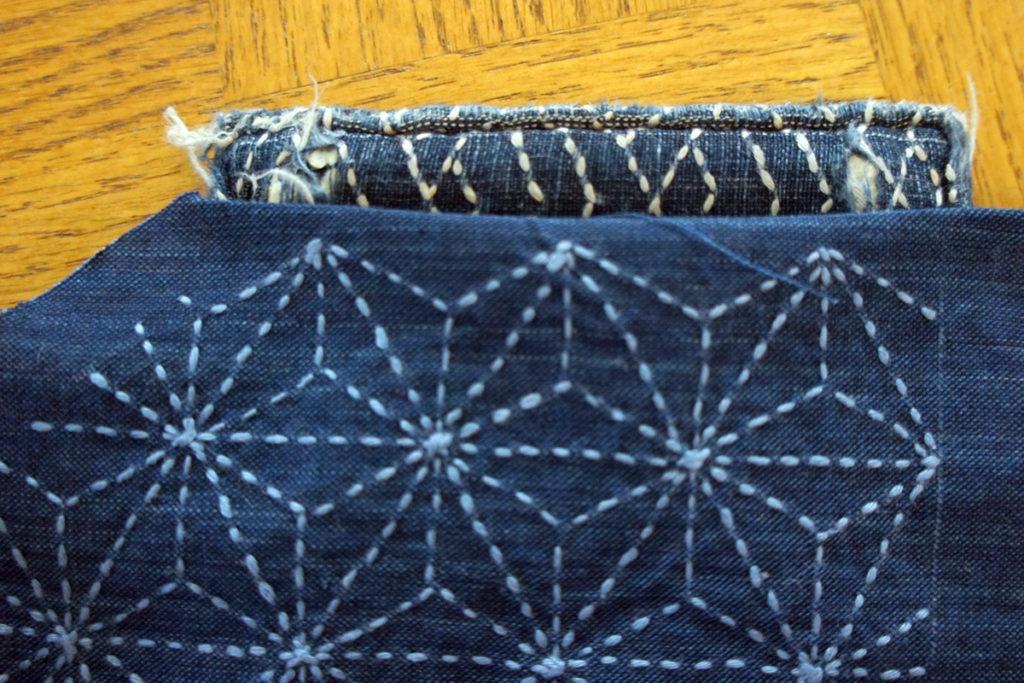 Wallet Sashiko Boro Repair 3