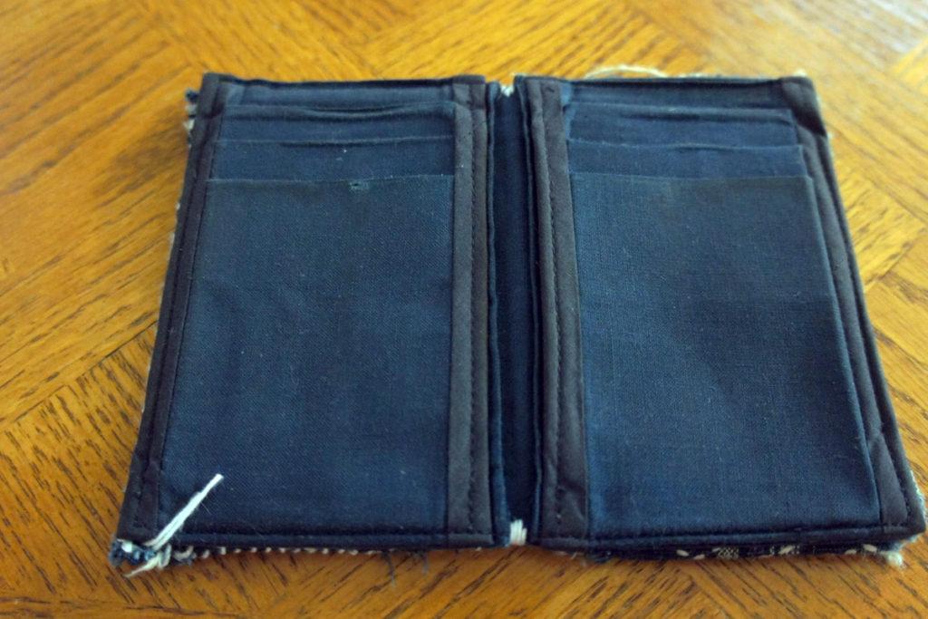 Wallet Sashiko Boro Repair