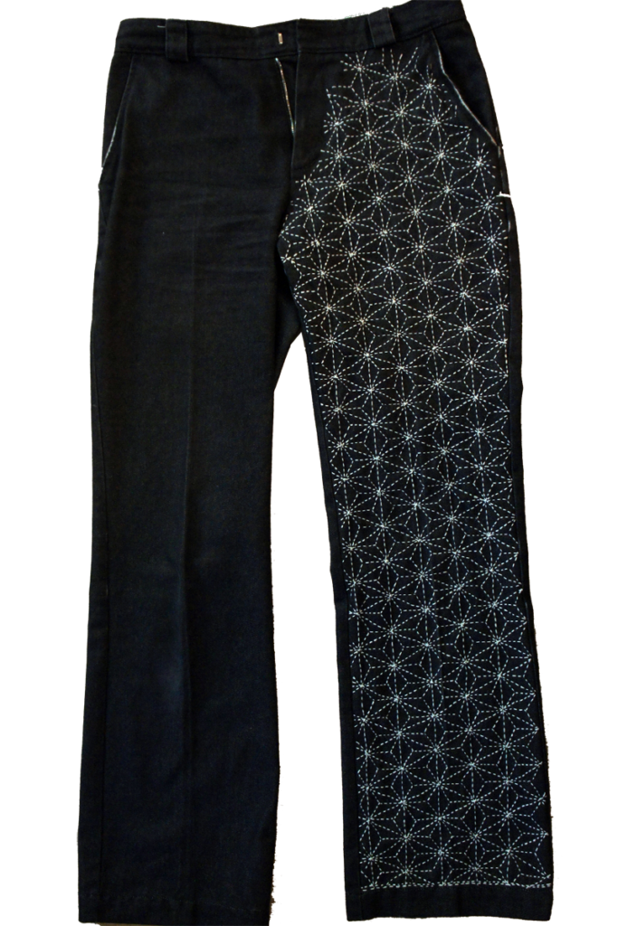 Hand-Stitched Sashiko Jeans Final