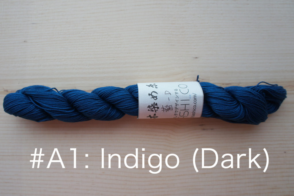 A1 Natural Indigo Dyed Thread