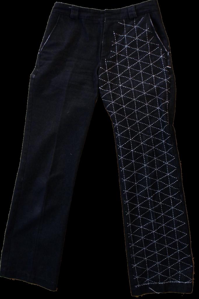 Hand-Stitched Sashiko Jeans 223