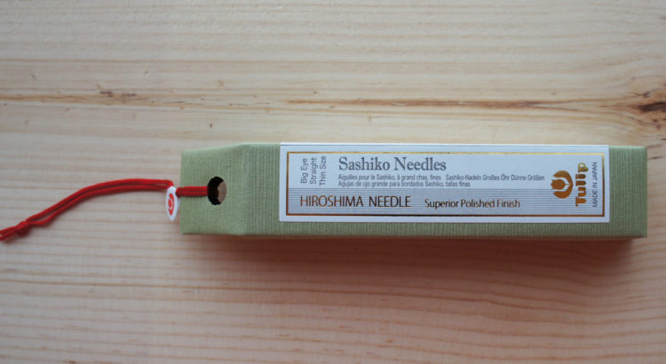 Sashiko Needle Big Eye Straight 1