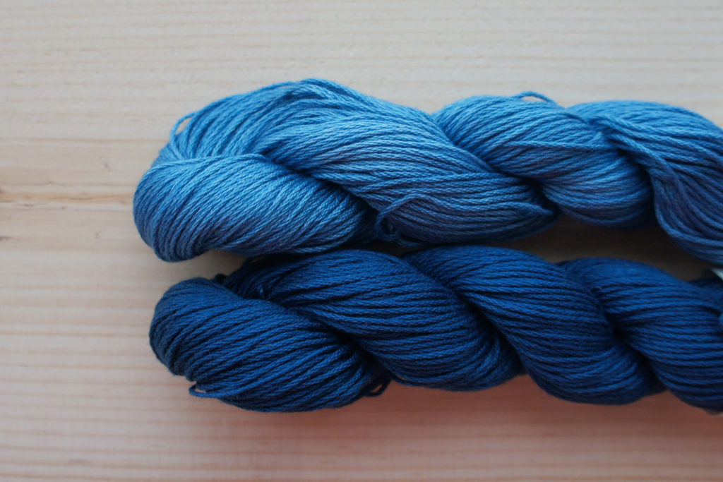 Natural Indigo Dyed Thread
