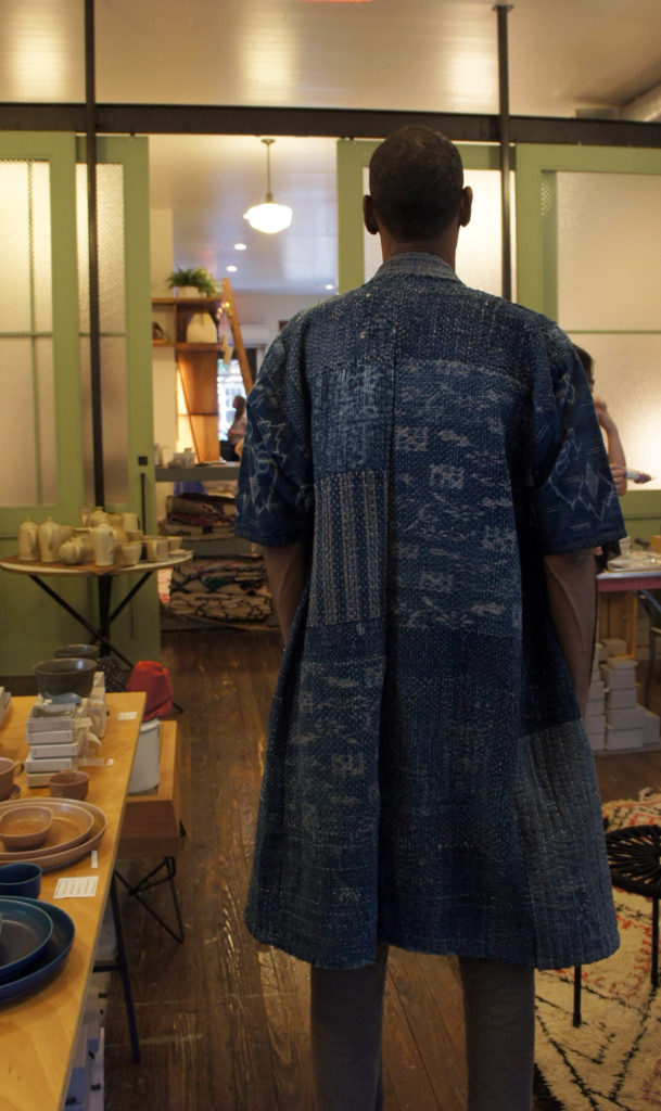 Beuatifu Photo of previous 2017 Fall Sashiko Workshop