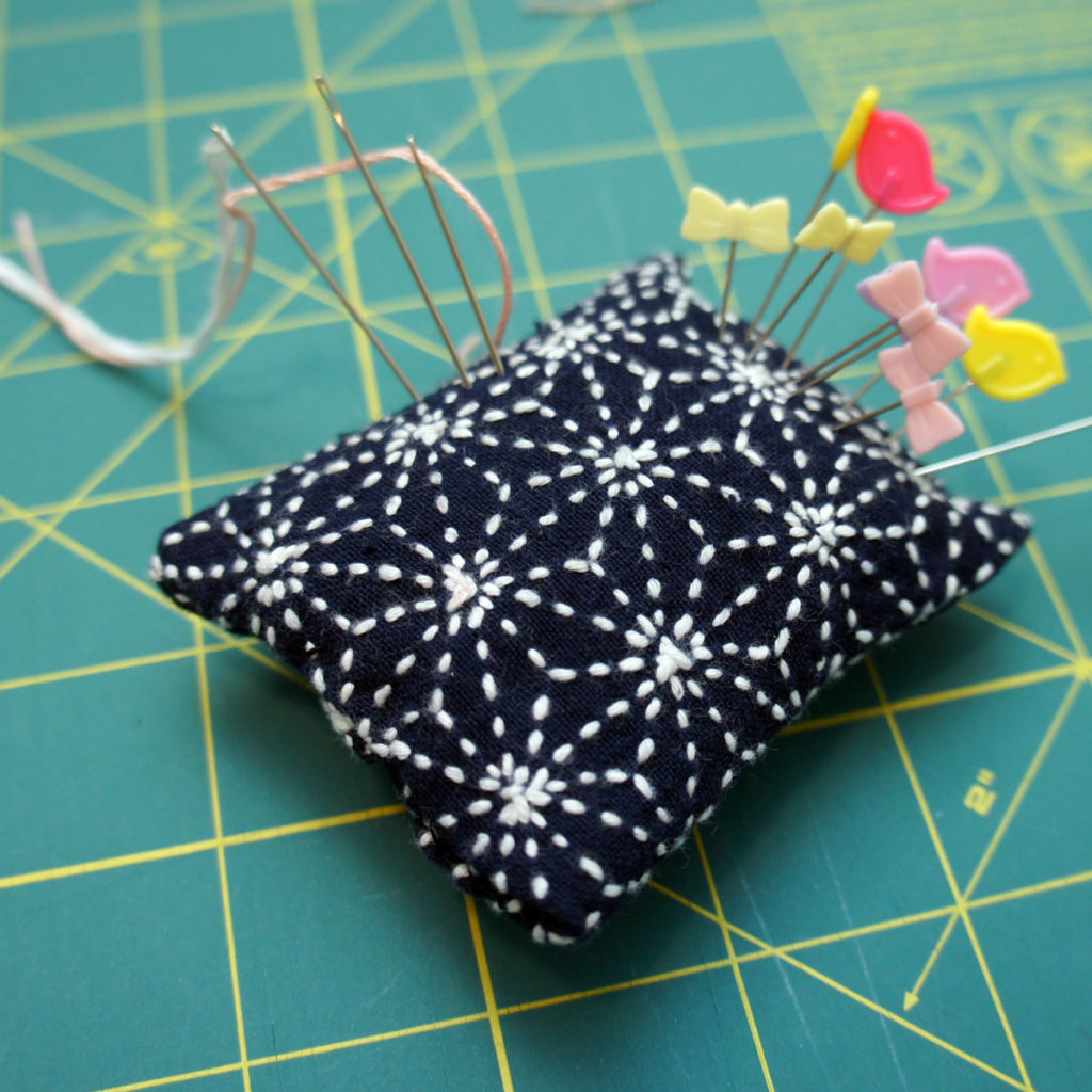 Private Sashiko Workshop Pin CUSHION