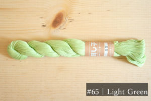 Pastel Color Sashiko Thread 65