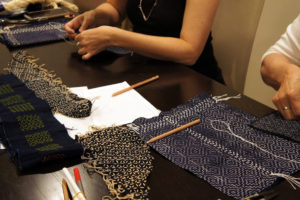 Sashiko Workshop July 2018