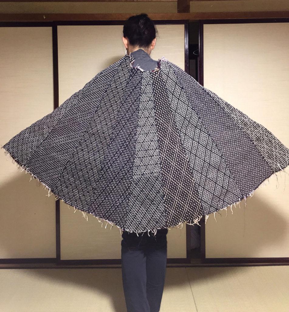 Hitomezashi Poncho