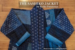Wearable Fine Art Sashiko Cover