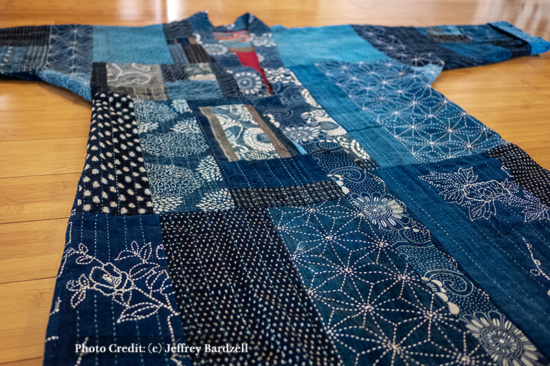 Sashiko Wearable Fine Art SJ