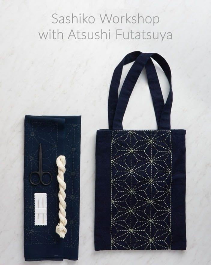 Purl Soho Sashiko Workshop 2019 Flyer