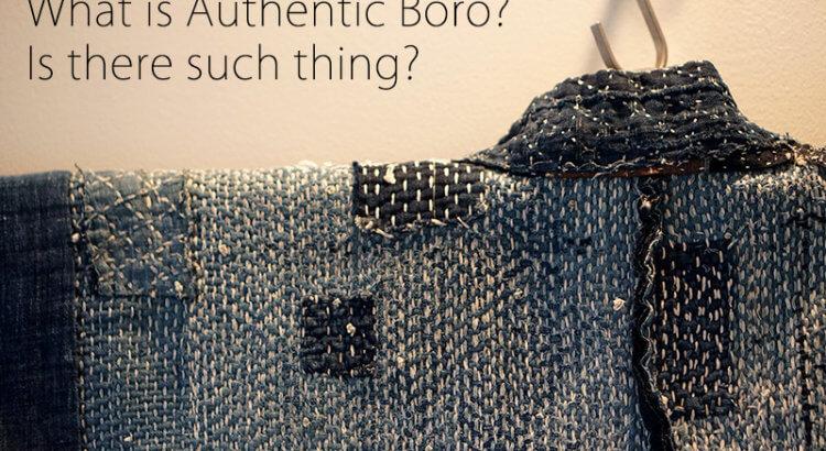 Authentic Boro Cover
