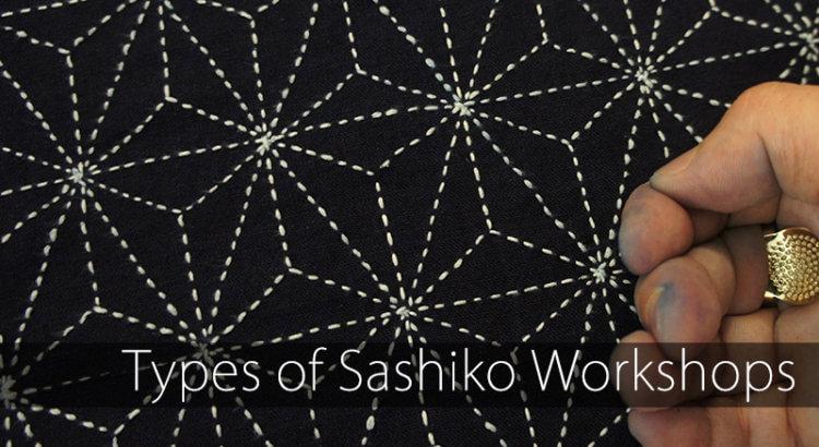 Types of Sashiko Workshops