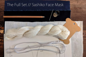 Sashiko FaceMask Kit
