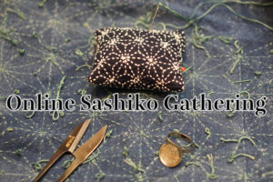 Online Sashiko Gathering Cover
