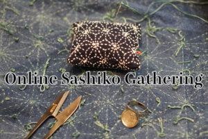 Online Sashiko Gathering Cover